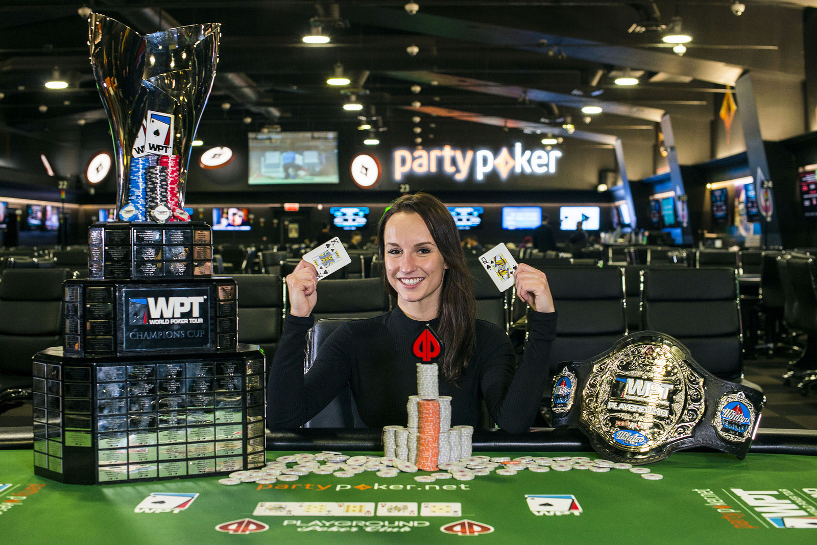 World Poker Tour Montreal: Ema Zajmovic se convierte en la primera mujer  que gana un WPT abierto al público | Poker Red