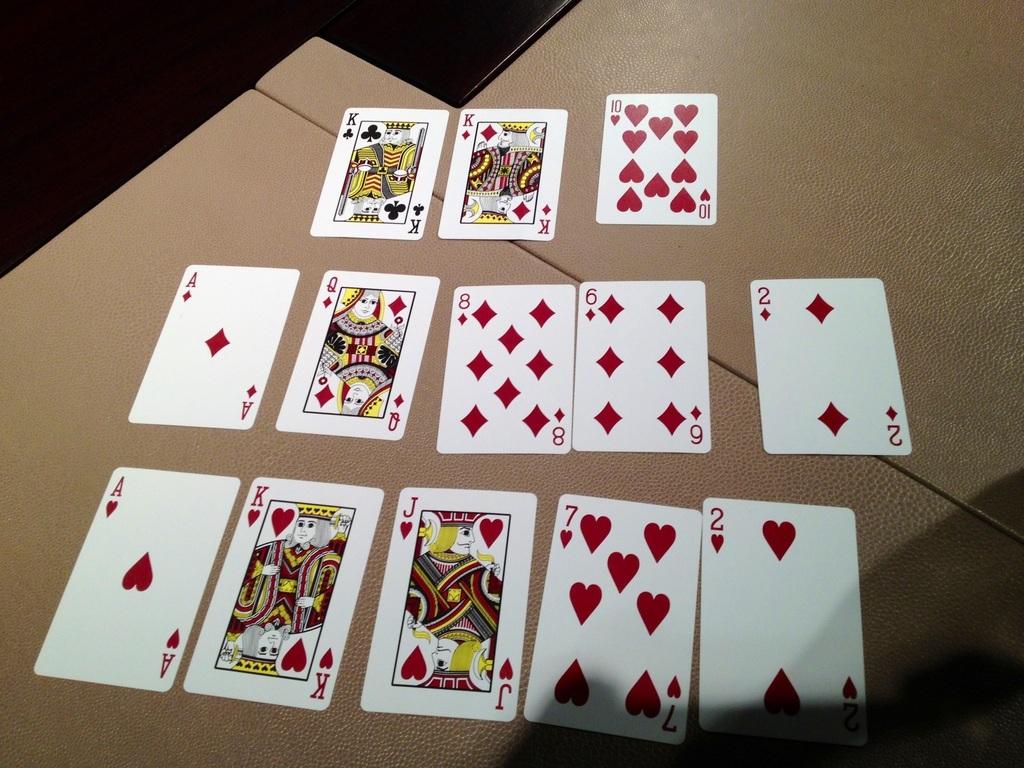 Texas Hold'em - Clasificación de manos