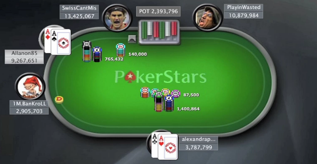 Alexandrapau poker