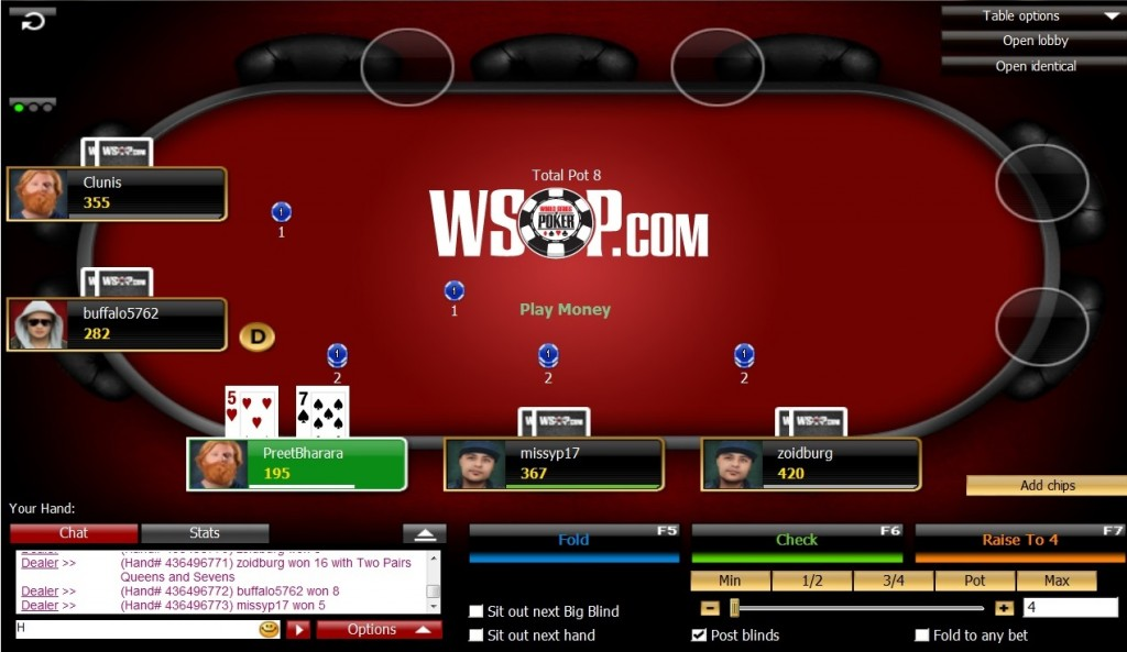 Money online poker