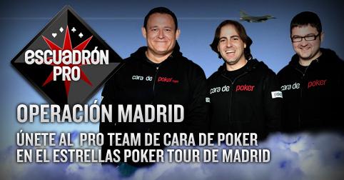 cara de poker pro team