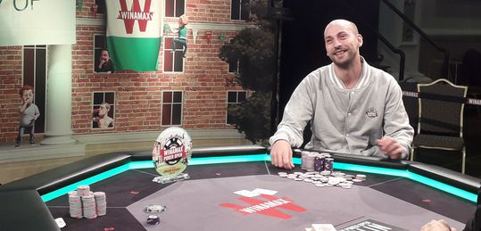 Ganador del Main Event Winamax Poker Open 2019 ¡¡Philippe Guillou!!