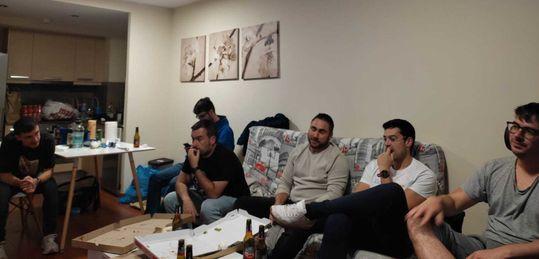La EducaPoker Army reunida en Andorra para apoyar a José María Jiménez