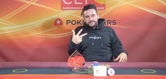 Henrique Rodrigues campeón del CEP por PokerStars Barcelona 2021