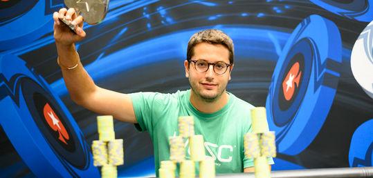 Juan Pardo gana el 25k High Roller