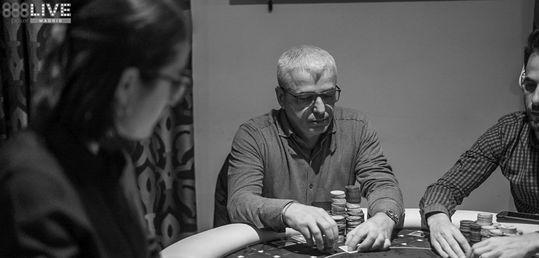 Claudio Giacomo cae en el puesto 12 (9.000 €)