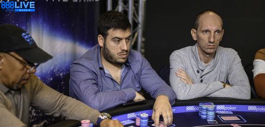 Paolo Boi y Manuel Borges caen el 18º y el 17º respectivamente