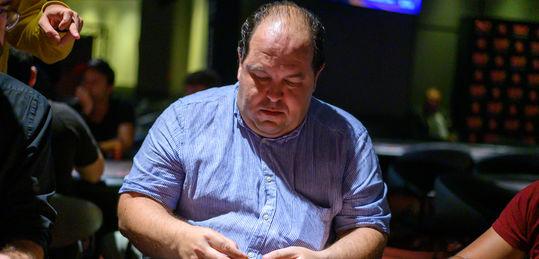 Roberto Beloqui finaliza el 1B como chip leader del Main Event - DSC_5576.JPG