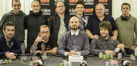 Gerard Carbó y Gregorio Díez alcanzan la mesa final del 8-Max
