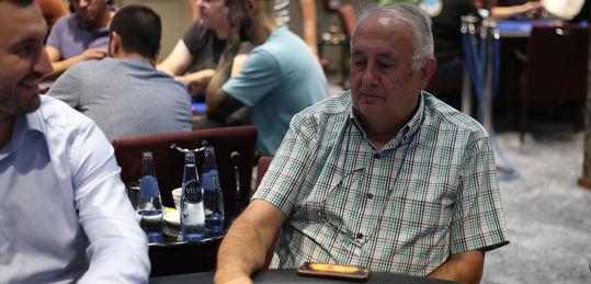 José Luis Cordero hace un call complicado, acierta y se pone enorme