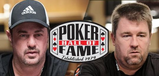 Chris Moneymaker y David Oppenheim entran en el Poker Hall of Fame - PHOF2019.jpg
