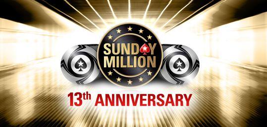 PokerStars celebra 13 años del Sunday Million con 10 millones de euros garantizados - Sunday_Million_13th_Anniversary.jpg