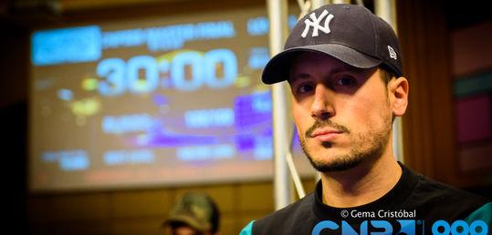 Rodrigo Corzo eliminado en sexta posición (8.000 €)