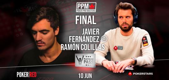 Ramón Colillas y Javier Fernández pelearán hoy en la final por un Platinum Pass - cartel_final_noti.png
