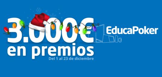 Los regalos navideños de la Santa Blue Race de EducaPoker - educapoker-promo-santa-blue.png