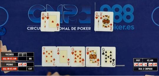 Vicente Gargallo termina en novena posición (3.300 €)