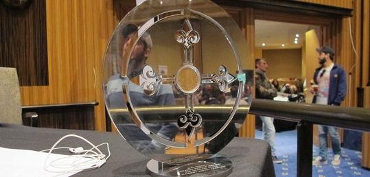 Casi 600 registros abarrotan las salas del Casino Gran Madrid en el día 1B - trofeo.JPG