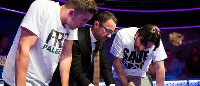 Las camisetas de la discordia. / PokerStars.
