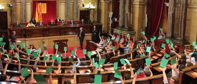 El Parlament catalán esta vez sí alcanzó un consenso. / Parlament.cat
