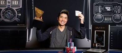 Chen se recuperó pronto de la sorpresa y posó así de contento. / PokerStars.