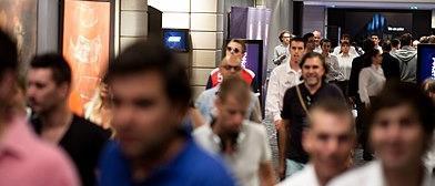 Y no paraba de llegar gente... / Foto: René Velli, PokerStarsBlog