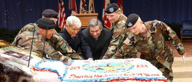 Tras la batalla, a repartir la tarta / army.mil