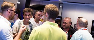 El que lidera es el sonriente José Carlos García. / PokerStarsBlog