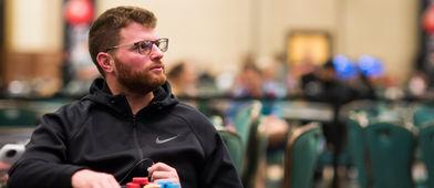 Nick Petrangelo cerró la bolsa más llena del field. / PokerStars Blog