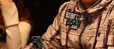 Pizu sonríe en el segundo día de competición