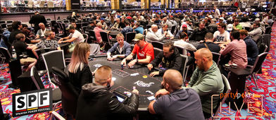 La mayor poker room de europa en pleno apogeo