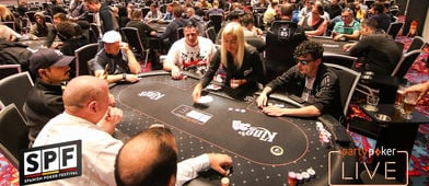 Un día más hemos disfrutado de una poker room a pleno rendimiento