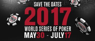Las WSOP 2017 concentrará sus torneos más importantes en los fines de semana - WSOP-Save-The-Date-2017.jpg