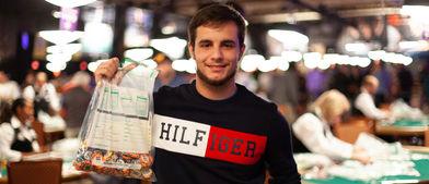 Juanki Vecino, el español que más fichas metió en la bolsa