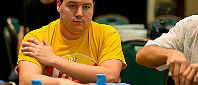 Shaun Deeb, el mejor colocado para el sprint final. / PokerStarsblog