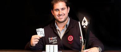 PAblo Alexander Tavitián, primer campeón del LAPT6. / PokerStarsblog