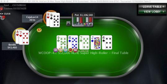 Resultado de imagen de ben86 final table